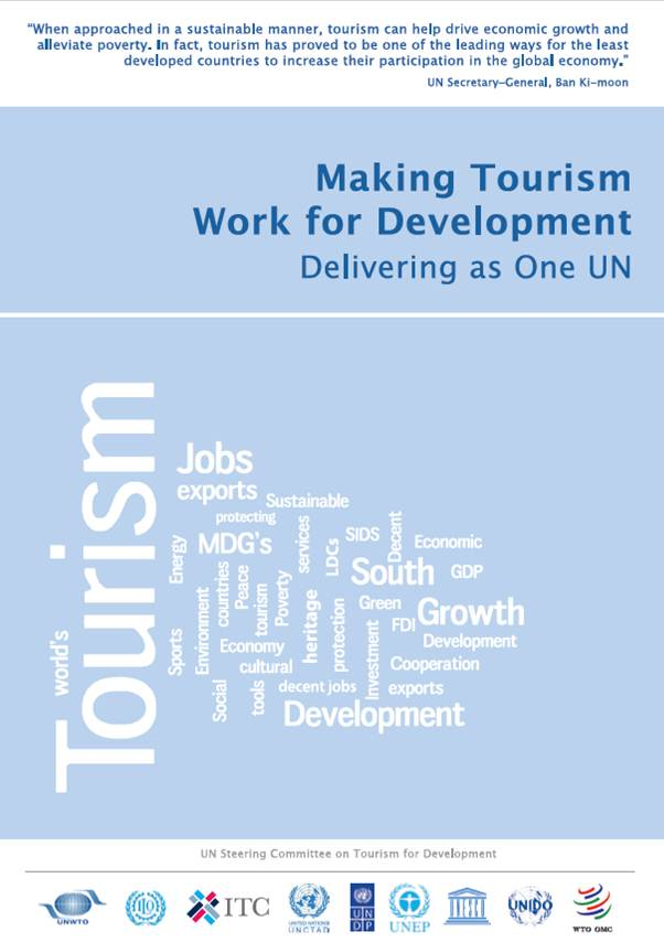 UN Steering Committee on Tourism for Development Leaflet