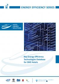 Key Energy Efficiency Technologies Database for SME Hotels.