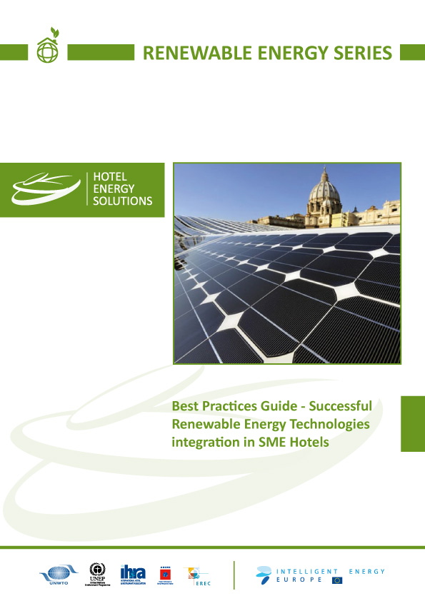 Best Practices Guide – Successful Renewable Energy Technologies integration in SME Hotels.