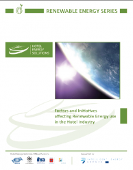 Factors and Initiatives affecting Renewable Energy Use in the Hotel Industry