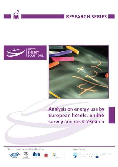 Analysis on energy use by European hotels: online survey and desk research