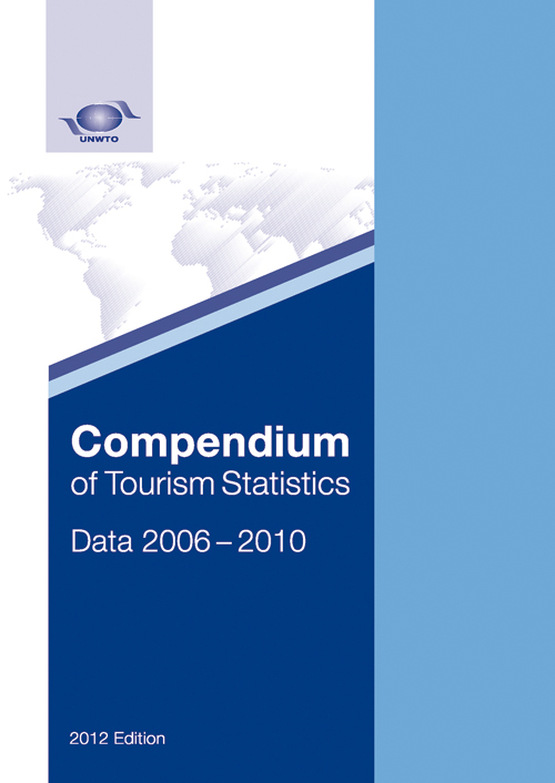 Compendium of Tourism Statistics, Data 2006 – 2010, 2012 Edition