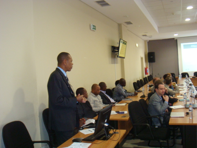 Participants at the Inception Meeting