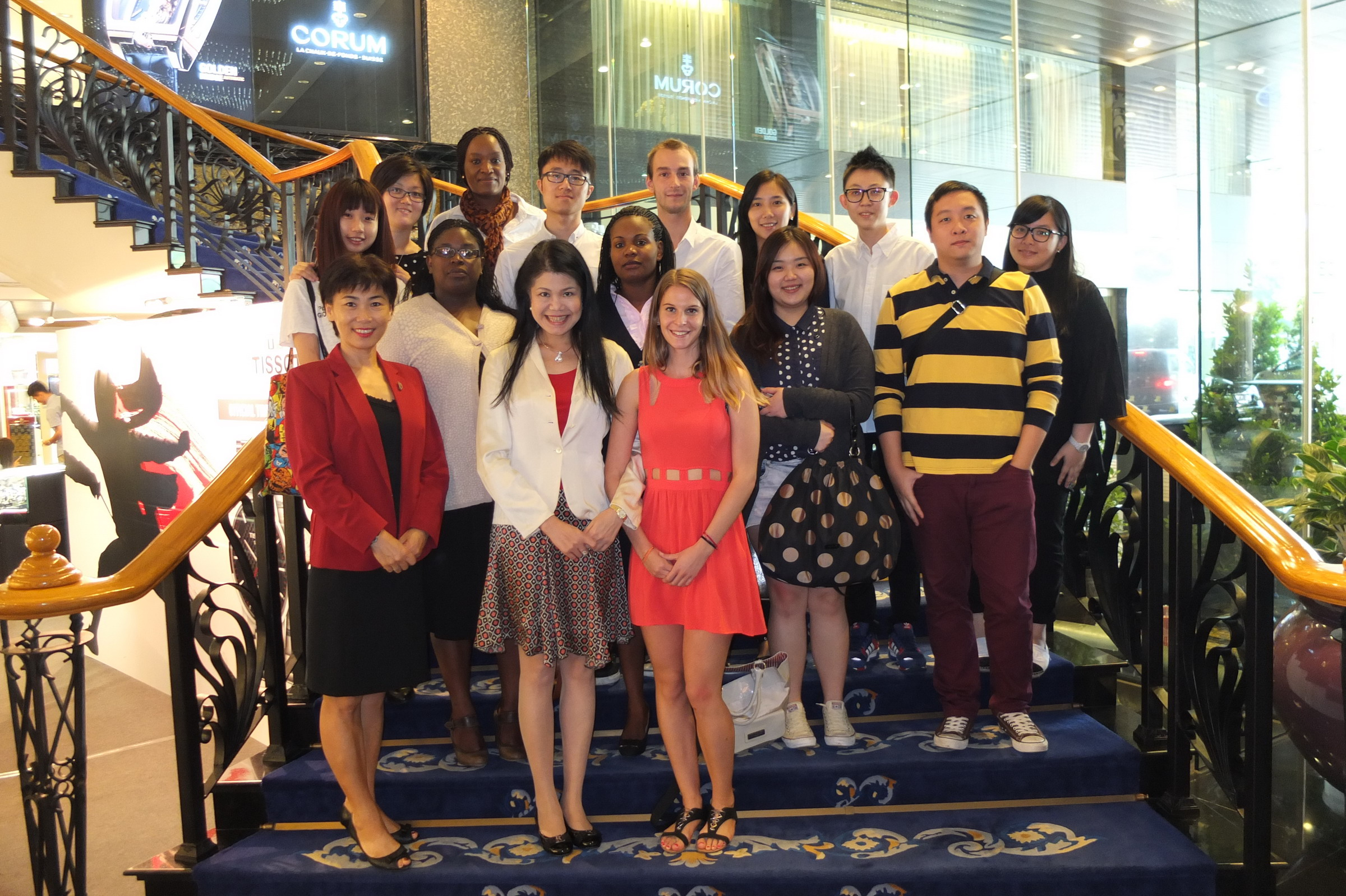 UNWTO Knowledge Network Scholarship Recipients at the City University of Macau