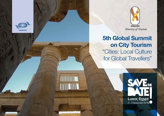 Save the Date Luxor 5th Global Summit on City Tourism
