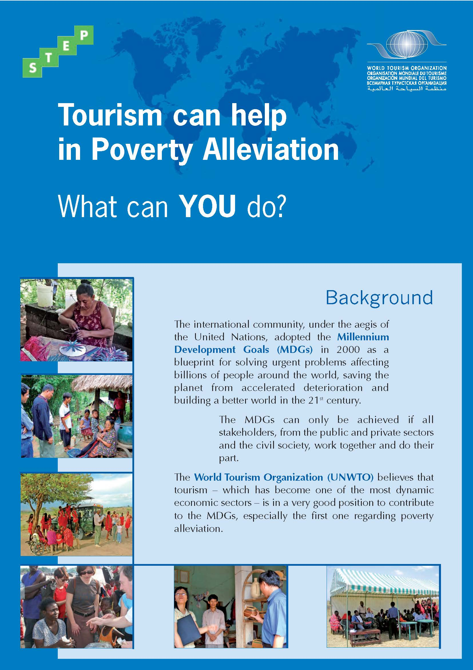 Tourism can help in poverty alleviation: what can you do?