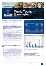 UNWTO World Tourism Barometer and Statistical Annex, June 2018