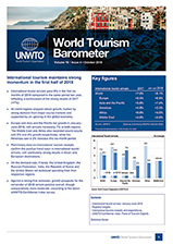 UNWTO World Tourism Barometer and Statistical Annex, October 2018