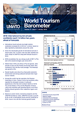 UNWTO World Tourism Barometer and Statistical Annex, January 2019